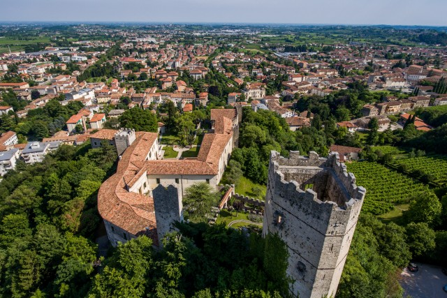 Near Vittorio Veneto, Treviso, Italy