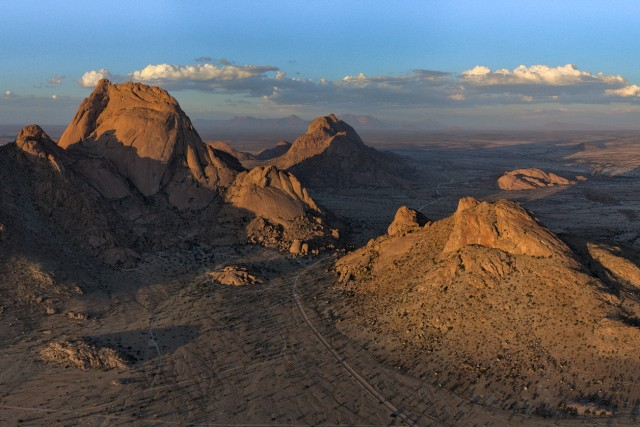 The Big Spitzkoppe Mountain (Panorama)