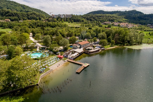 Lake of Lago, Treviso, Italy