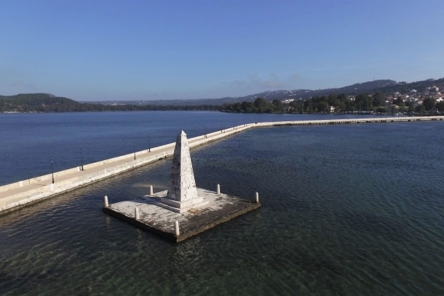 De Bosset Bridge , Argostoli , Kefalonia