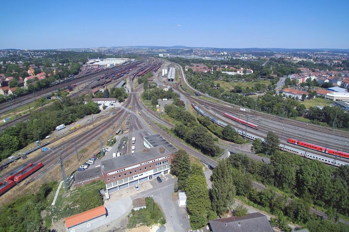 marshalling yard at Kassel, Germany