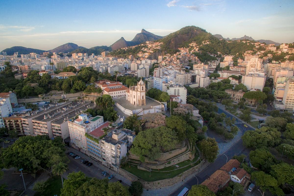 Rio de Janeiro –  Igreja Outeiro da Glória