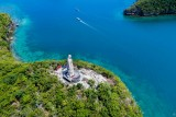 Statue of Christ , Hundred Islands National Park