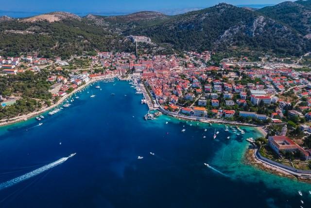The city of Hvar, Croatia