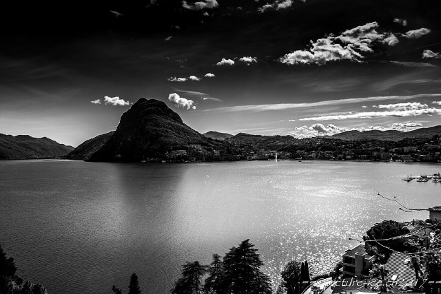 Over the Lake of Lugano