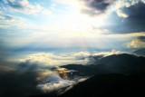 Aerial View From The Mpourinos Mountain , Siatista , Greece