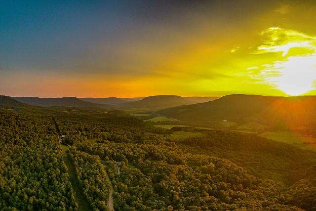 Jasper, Arkansas sunsets