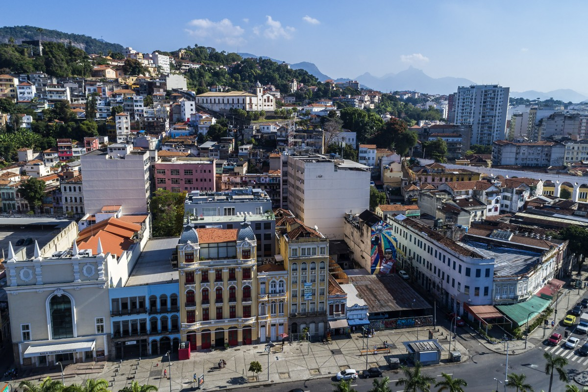 lapa and santa teresa neighborhood rio de janeiro downtown dronestagram. Black Bedroom Furniture Sets. Home Design Ideas
