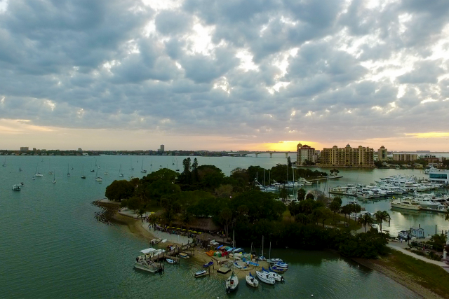 Marina Wild Sunset