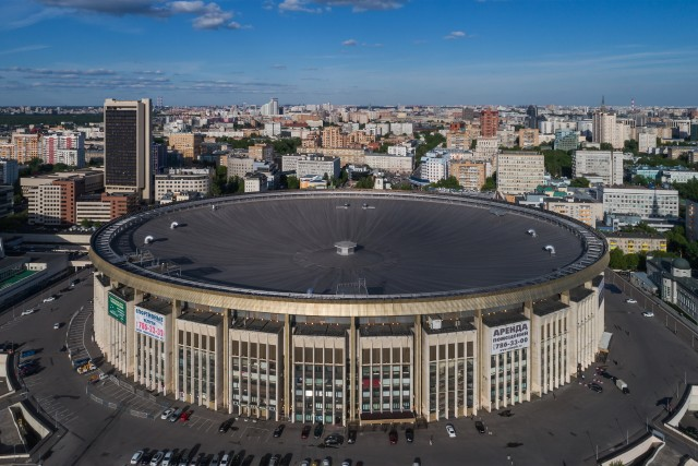 Olimpiysky Indoor Arena, Moscow, Russia