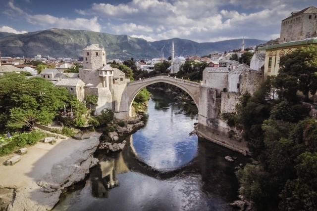 Stari Most, 16th Century Bridge, Mostar, Bosnia