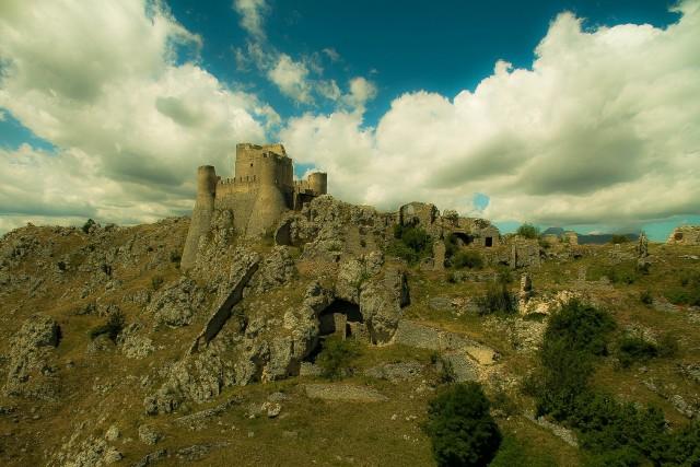 Nel nome della rosa, Castello Rocca Calascio, Abruzzo, Italy