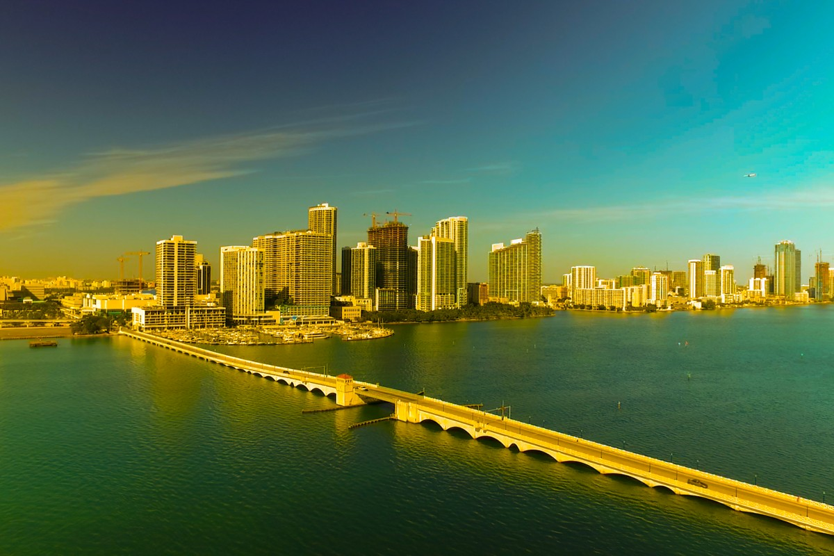 Miami Colors on Biscayne Bay