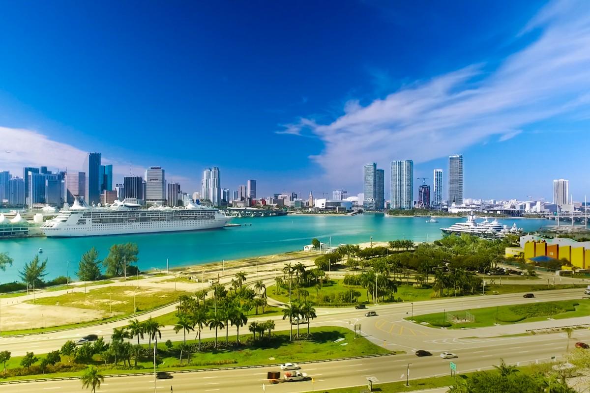 Miami Biscayne Bay Watson Island