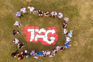 Teamwork! TAG Aviation logo