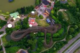 Roller coaster, Walibi, Belgium