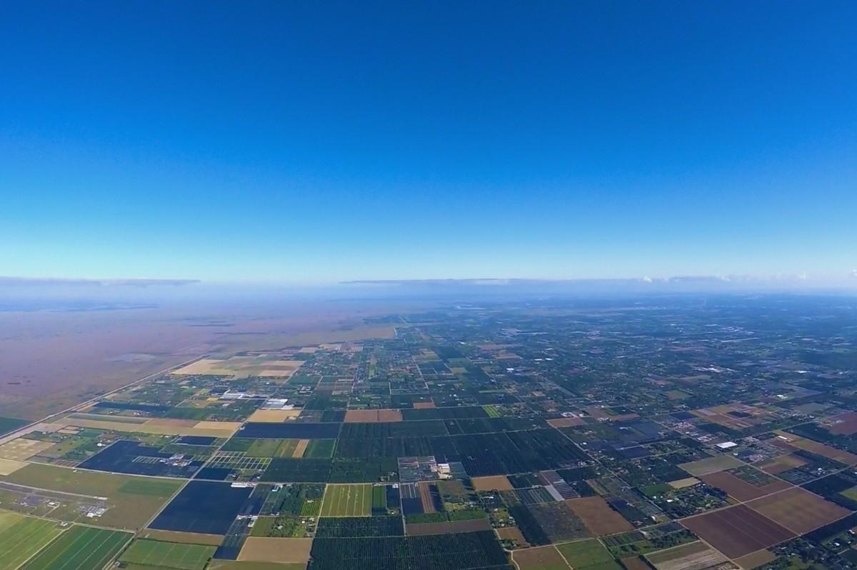 Aerial at 5500 feet