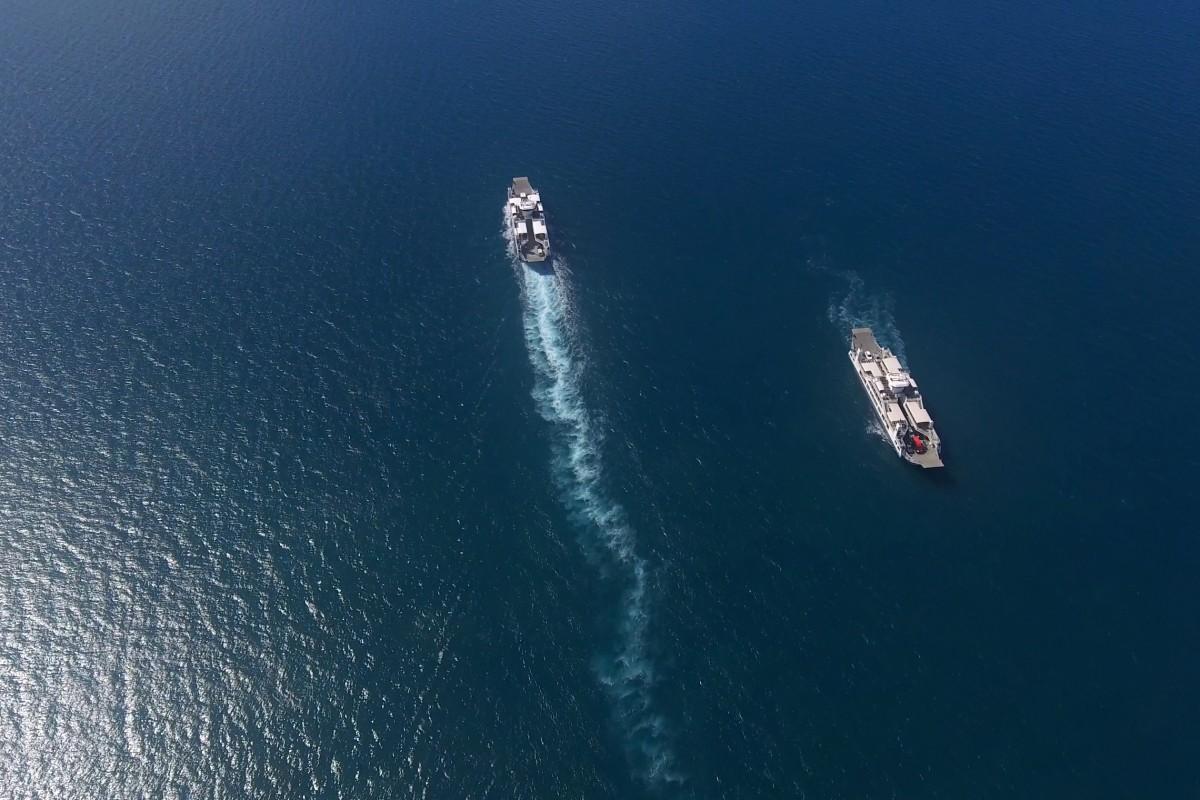 Les barges de Mayotte