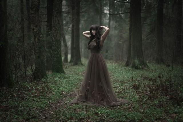 Mystic forest by Marina Vovchenko