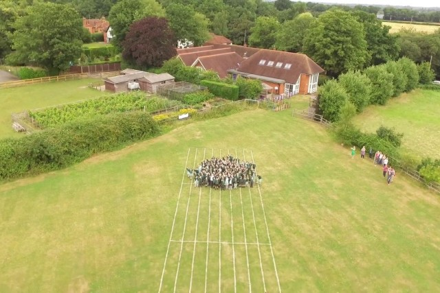 Dogmersfield primary school video featuring school values, hampshire UK
