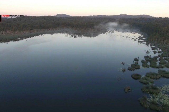 Ewan Maddock Dam QLD Australia.