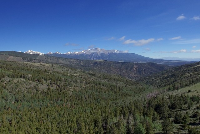Colorado Rockies and Continental Divide