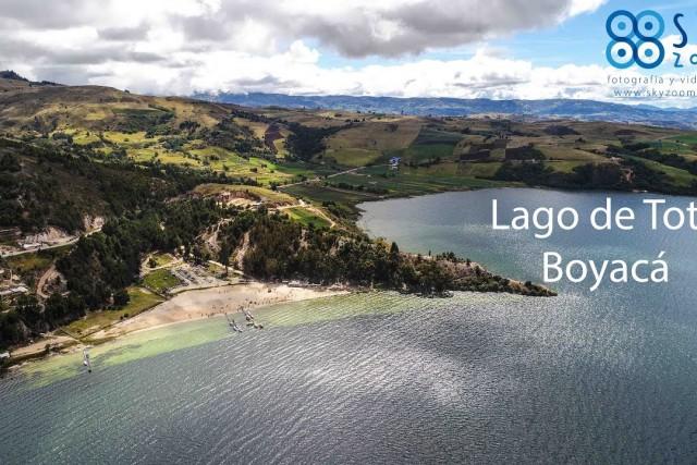 Lago de Tota – Boyacá – Dronie – Sky Zoom