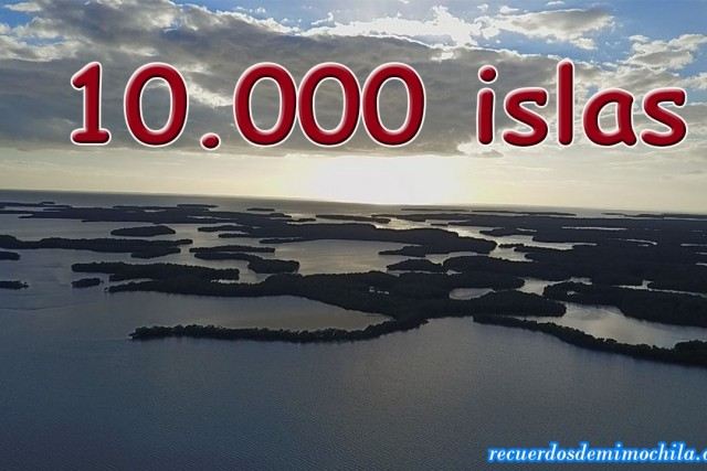 Las 10.000 islas frente a isla Chokoloskee