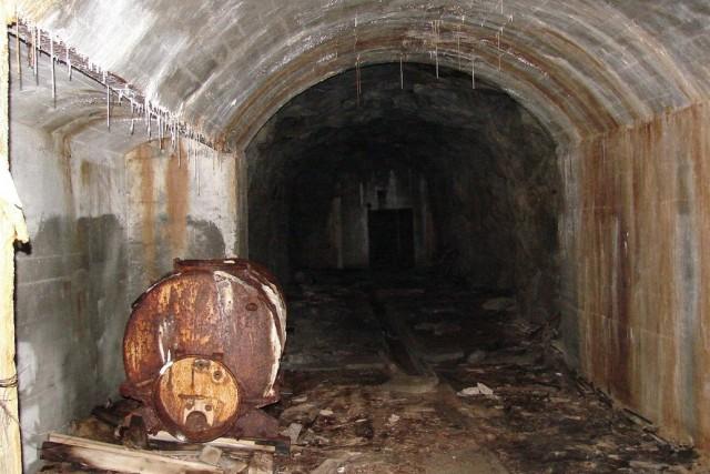 Old German military bunker