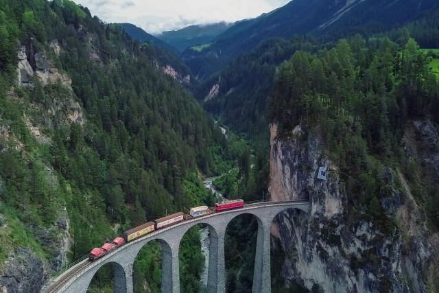 Landwasserviaduckt (Grisons) (Suisse)