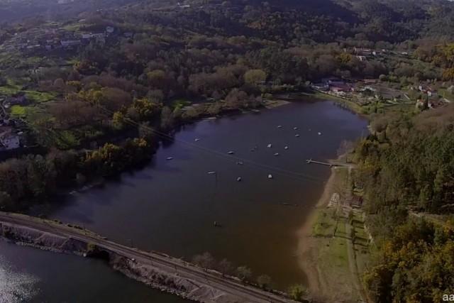 Rivela, Ourense (Spain). Xiaomi Mi Drone