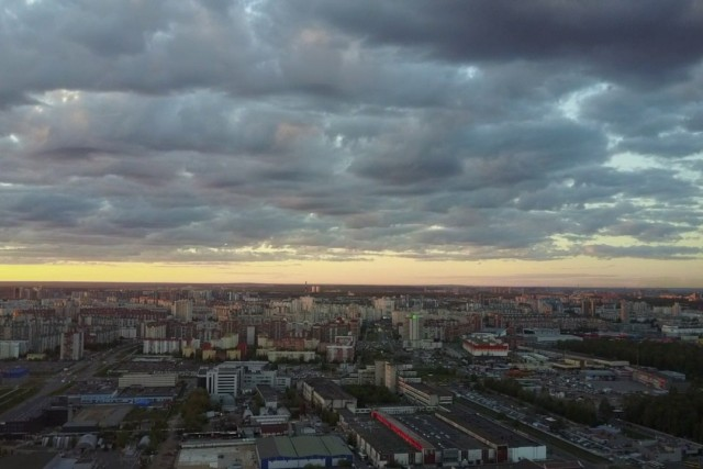 test Mavic Pro Russia , St.Petersburg , Primorskiy district