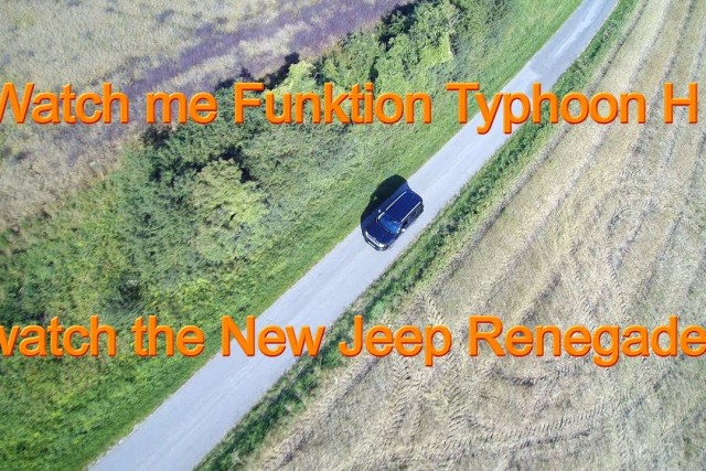 Typhoon H watch me Modus watch the New Jeep Renegade