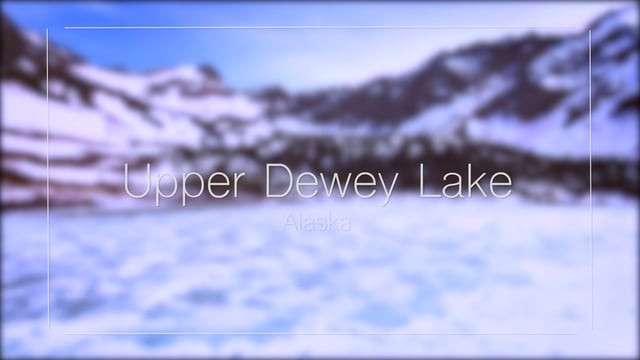 Upper Dewey Lake – DJI Phantom 4 (4k)