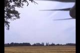 White drone down