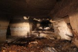 Inside France's secret World War I bunker: Explorers find wartime weapons stowed away in underground quarry