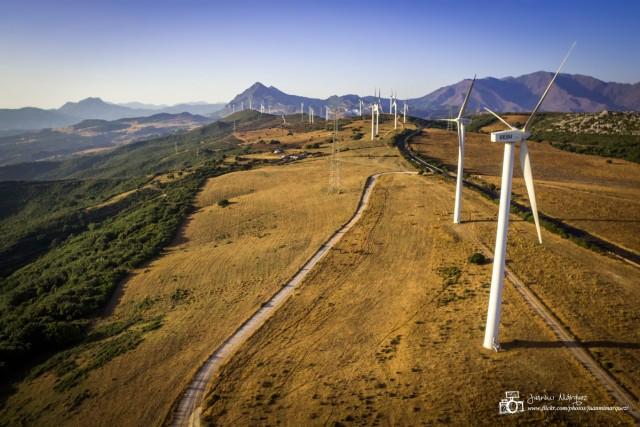 Generadores eólicos en Manilva