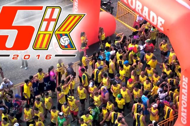 5K Barcelona Sporting Club 2016