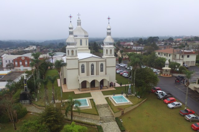 Igreja Nossa Senhora da Glória em Pitanga PR, Brasil