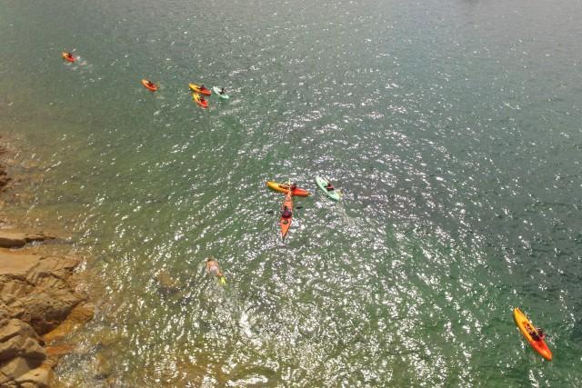 Randonnee en Kayak, Bretagne