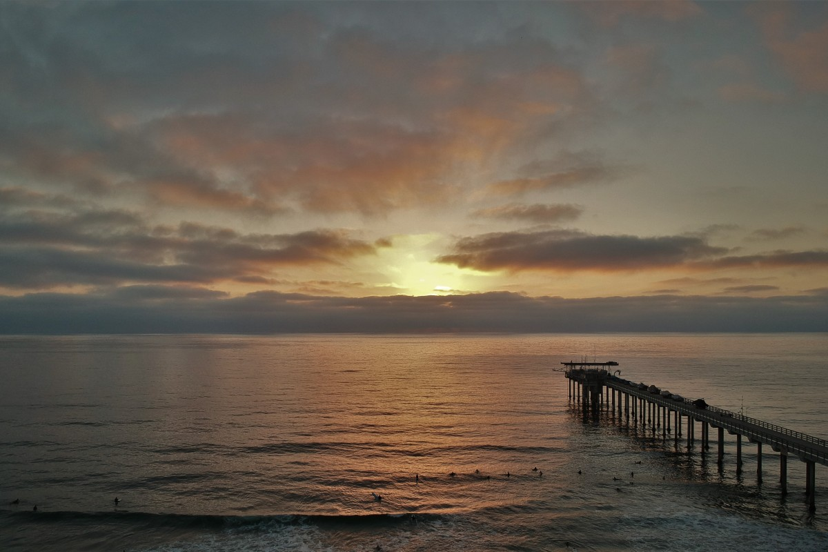 La Jolla Shores at Scripps Pier