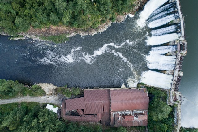 The oldest operating hydroelectric power station in Russia