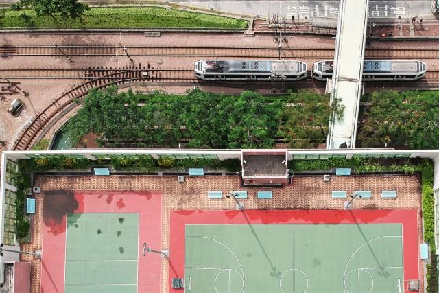 The density of Hong Kong