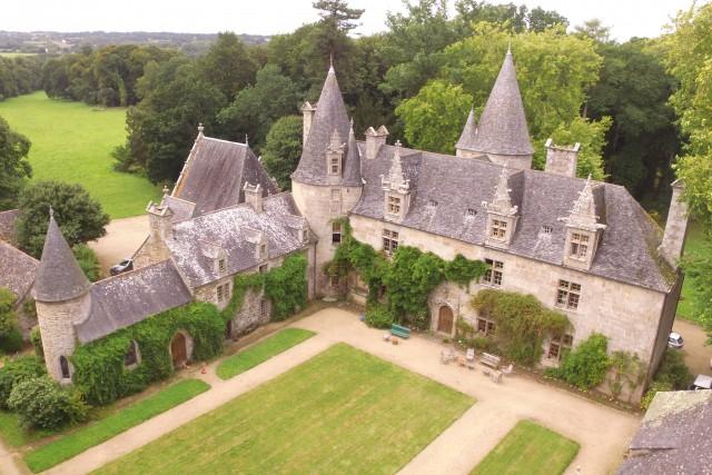 Chateau de Les Maes, Bretagne