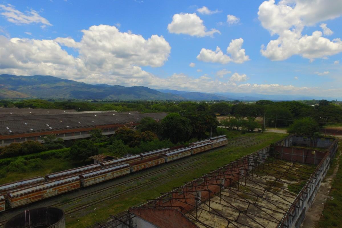 Estación del tren Buga, Colombia