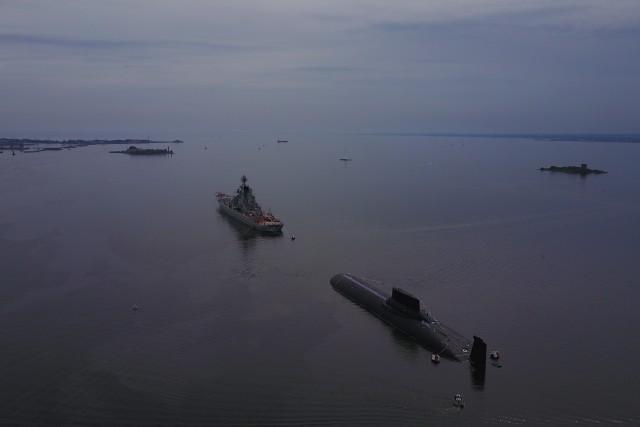 Russian Navy submarine..