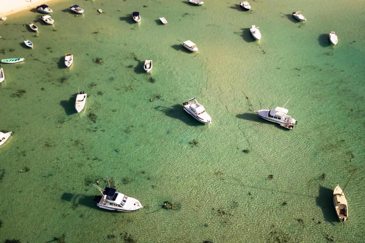 Resting boats