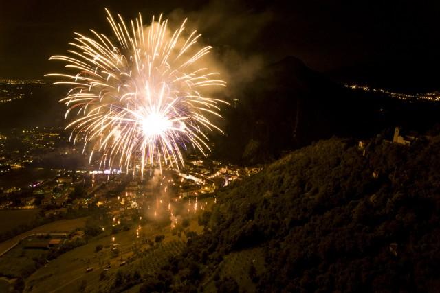 Sant'Augusta Fireworks, Vittorio Veneto, Italy