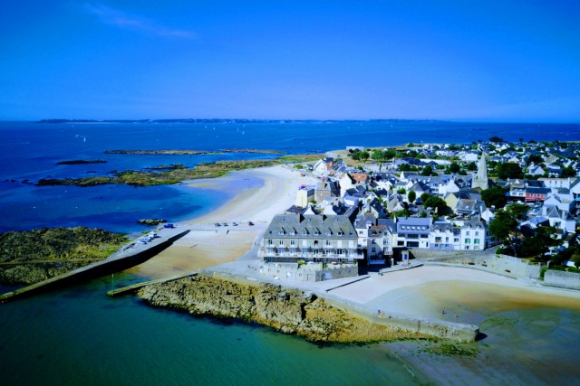 Brittany  coast in France