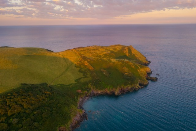 Bolt Tail – South Devon – Sunrise Aerial